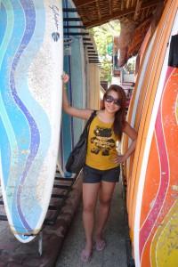 Hannah Villasis on Health, Surfing and Tropicana
