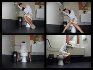 toilet sleeper