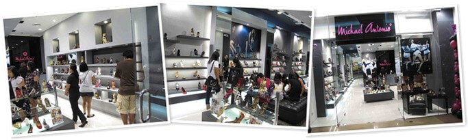 View Michael Antonio Store in SM Annex - SM City North Edsa