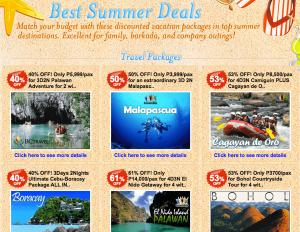 Buyanihan Summer deals 2011