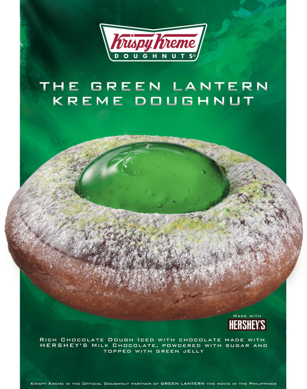 Krispy Kreme Green Lantern