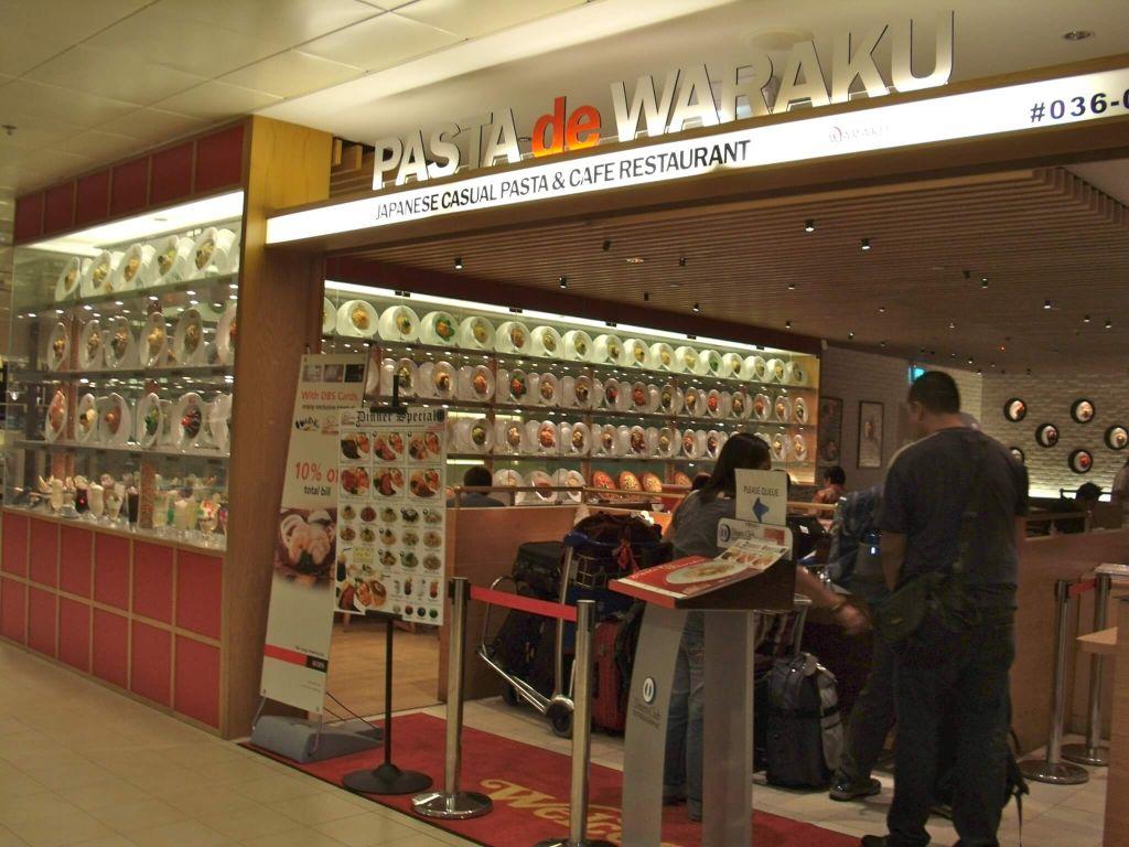 pasta de waraku - japanese fusion singapore