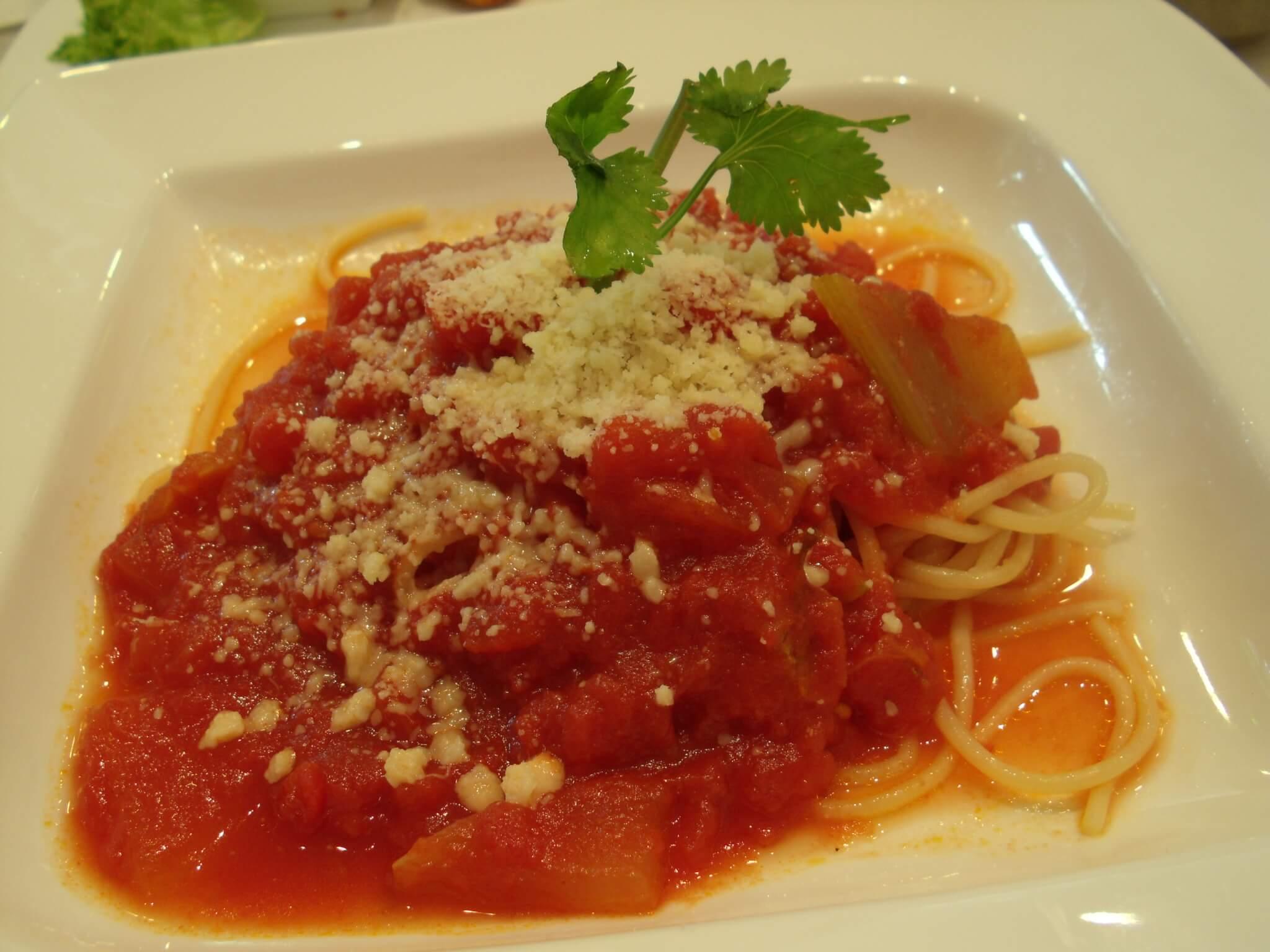 Tastes of Asia Sentosa Singapore spaghetti