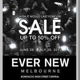SALE Alert! Ever New Melbourne at BHS Central