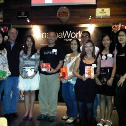 CinemaWorld International Movie Channel Launch in the Philippines