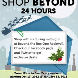 Beyond the Box Rockwell Weekend Deals, Christmas is Early!