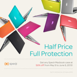 Speck 50 Sale: Candy Coated Gadget at 50% Off