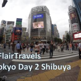 Flair Travels Tokyo Day 2 Harajuku, Shibuya